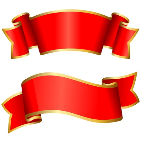 ribbon: Red ribbon collection