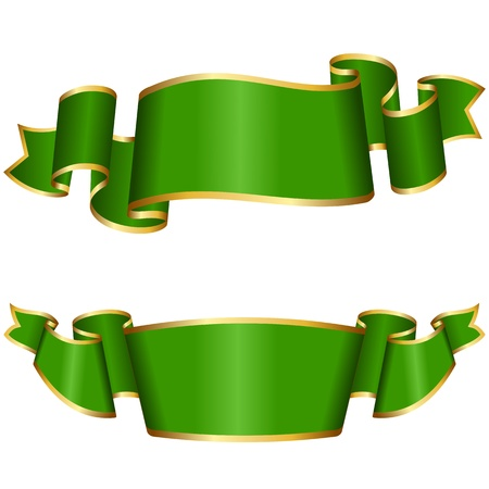 Green ribbon collection