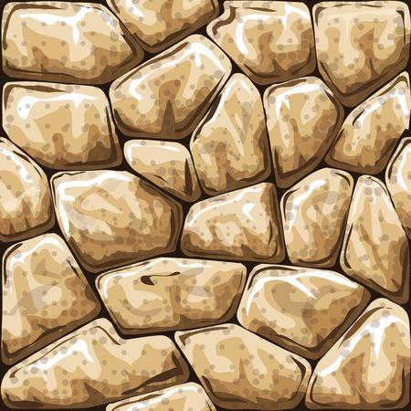 Vector illustration of simple stone seamless pattern