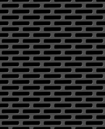 grille: Vector illustration of Metal grid seamless pattern