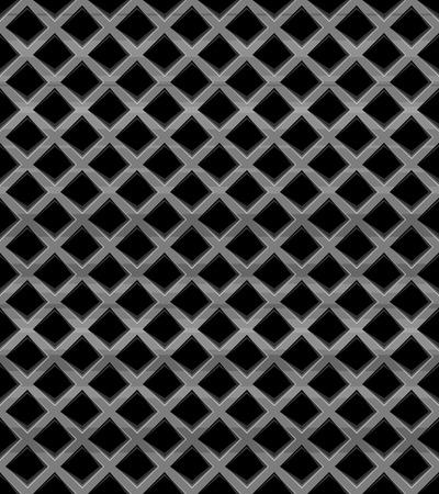 metal grid: Metal grid seamless pattern