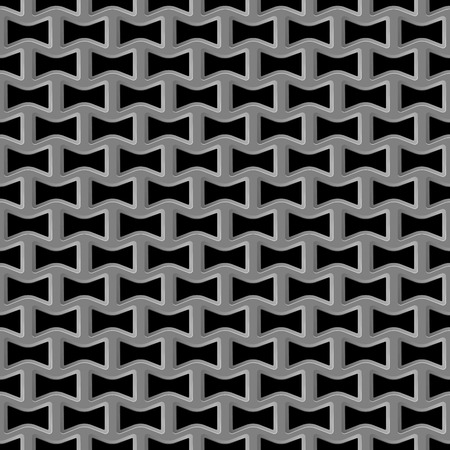 steel grille: Vector illustration of Metal grid seamless pattern