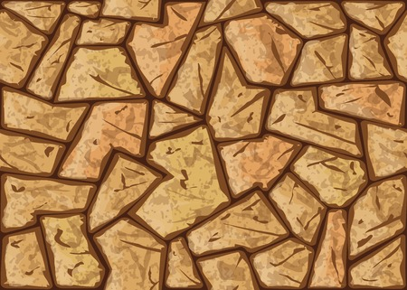 cobblestone: Vector illustration of simple stone seamless pattern