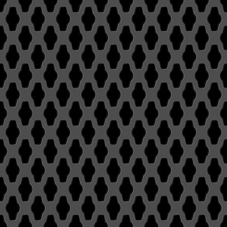 seamless metal: Vector illustration of Metal grid seamless pattern