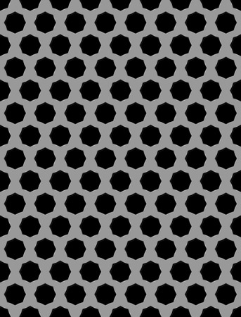 metal grid: Vector illustration of Metal grid seamless pattern