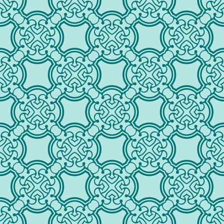turquiose: Simple turquoise seamless wallpaper pattern illustration