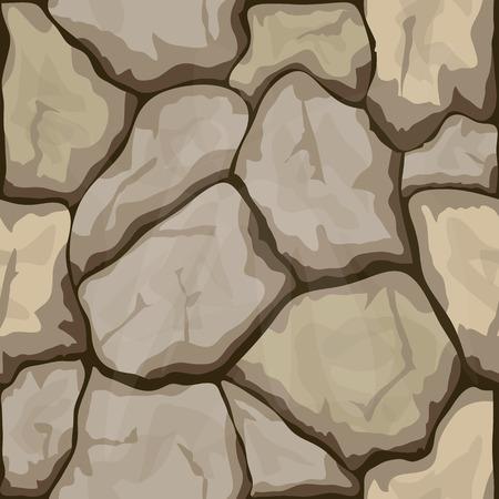 rubble: sencillo patr�n transparente piedra marr�n. Ilustraci�n vectorial