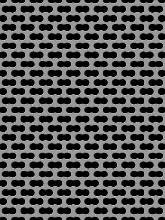 metal grid: Vector illustration of Metal grid seamless pattern