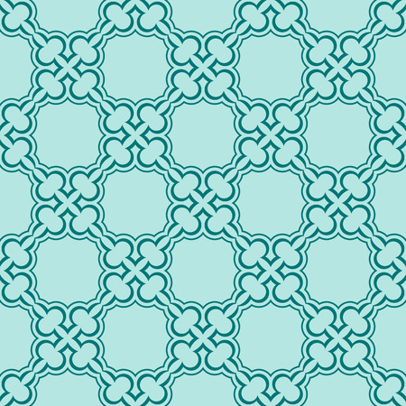 turquiose: Simple turquiose seamless wallpaper pattern vector illustration
