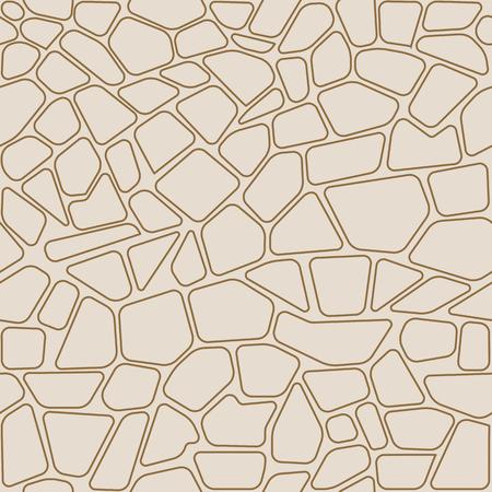 Stone seamless pattern. Ilustrace