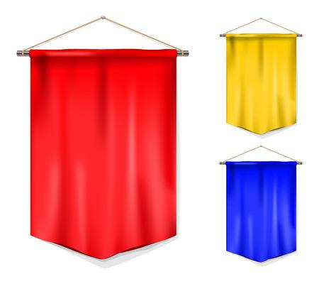 Set of pennant