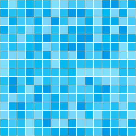 Seamless texture of swimming pool. Seamless vector illustration Vektoros illusztráció