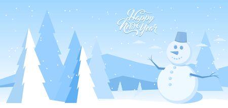 Abstract winter background Banco de Imagens - 132232539