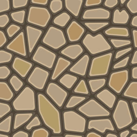 Seamless texture of stonewall