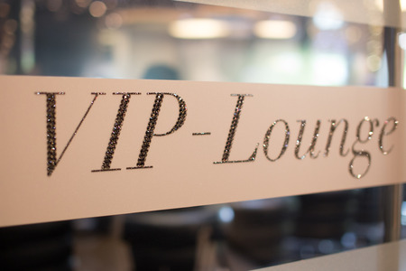 Vip lounge invitation for the club members