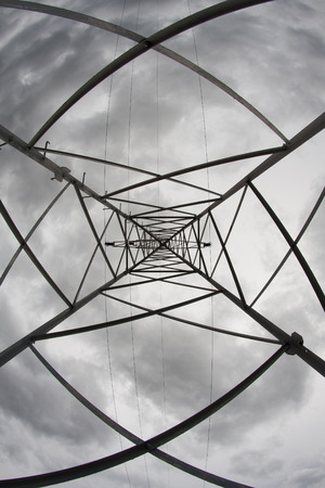 electricity providers: The composition made from the structure of powerlines