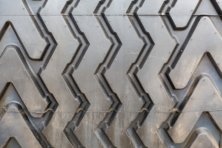 pneu: Close view on the fragment of the tire