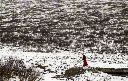 penance: tibet seda at the snow