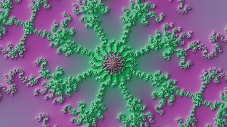 Mandelbrot fractal with a slope effect