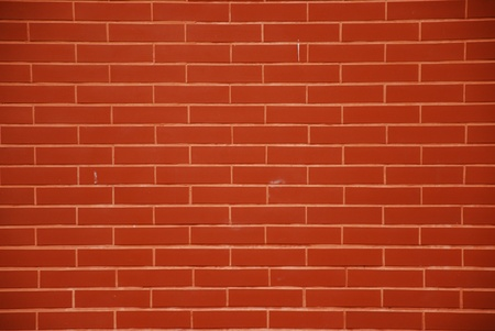 Simple brick wall Stock Photo