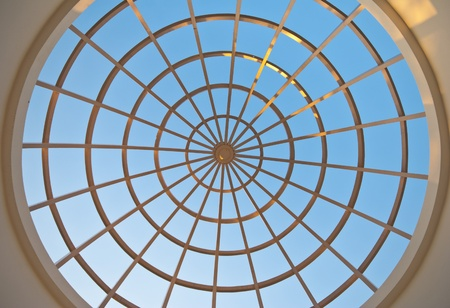 Top conservatory dome Stock Photo - 12585162