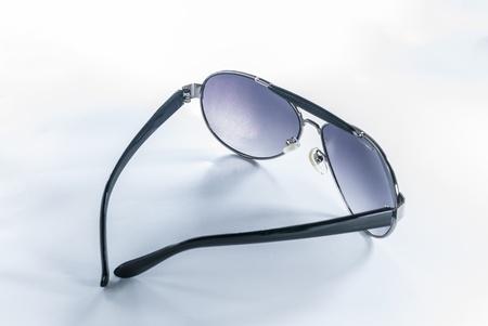 Sunglasses - Aviator Sunglasses - sunglasses isolated on a white background Stock Photo - 14325827