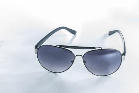 Sunglasses - Aviator Sunglasses - sunglasses isolated on a white background Stock Photo - 14325848
