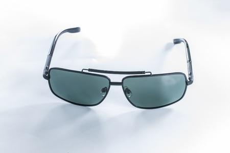 Sunglasses - Aviator Sunglasses - sunglasses isolated on a white background Stock Photo - 14325836