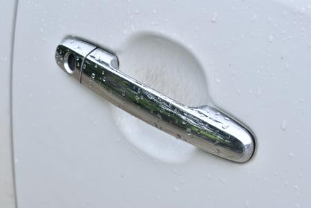 car door handle and lock  photo
