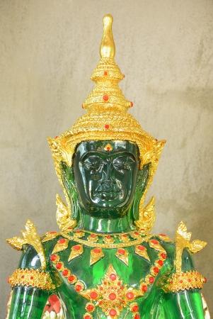 Emerald budhha, closeup photo