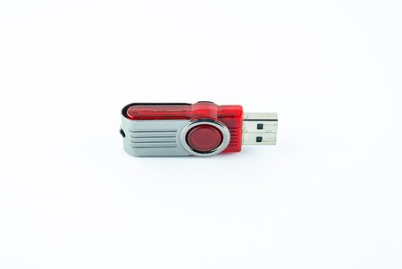 Usb flash memory isolated on the white background - Handy drive - Thumb drive - Portable flash usb drive - usb stick photo