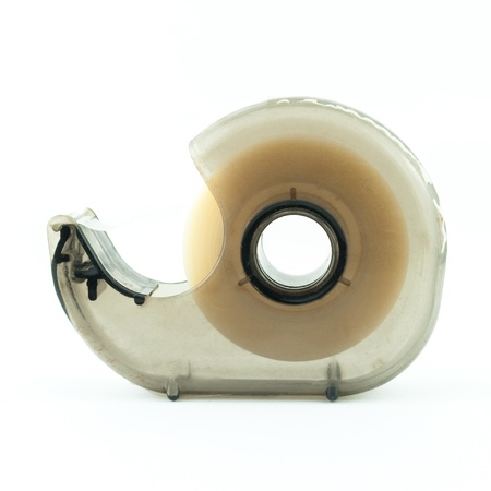 Tape Holder on white background photo