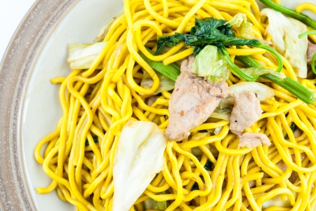 Fried noodles Japanese Yakisoba photo