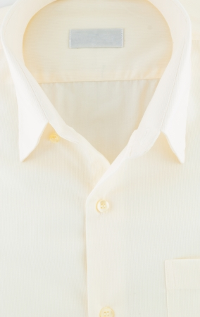 camisa dobladas close-up de color amarillo photo