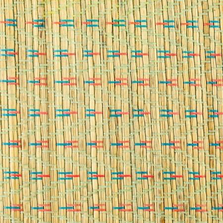 weaving: wooden striped textured weaving background - Wicker Woven