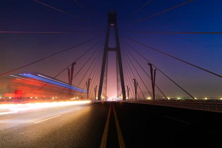 内蒙古自治区の橋 写真素材