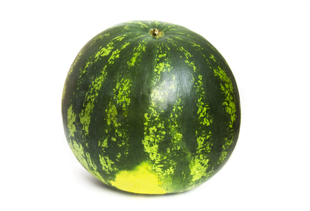 Watermelon isolated on white background. Close up.