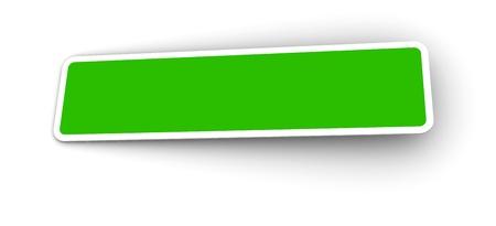 Blank stickers Stock Photo - 8493634