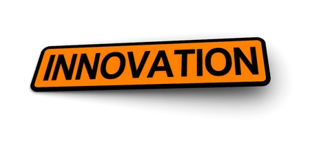 labels for the innovation Stock Photo - 8493655