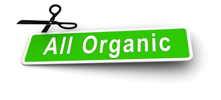 labels for the all organic Stock Photo - 8496307