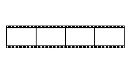 Blank Film Frames