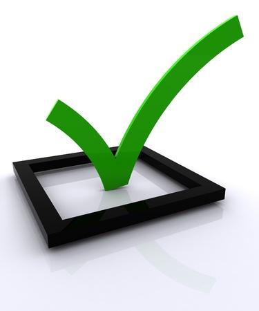 Check list Symbol  Stock Photo - 8513315
