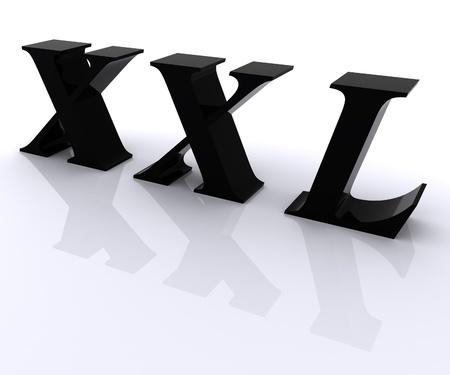 xxl: XXL sign