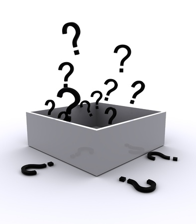 Box with question mark