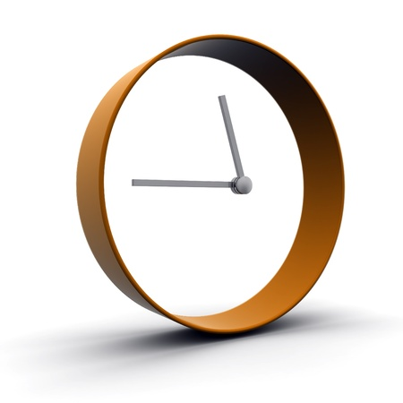 3D Clock  Stock Photo