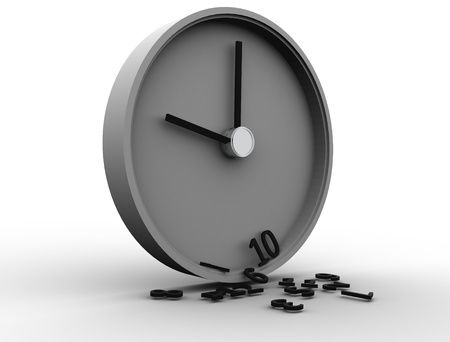 3D Clock Stock Photo - 8523445