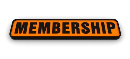 Sign for the word Membership photo