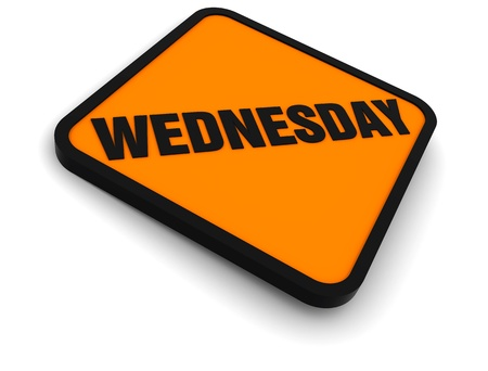 wednesday: Sign for the word Wednesday