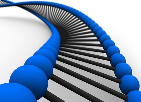 3D Render DNA photo