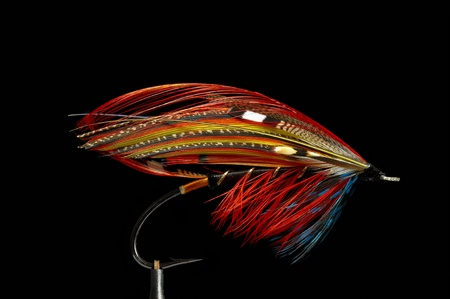 angling: Fly fishing flies  lures for salmon
